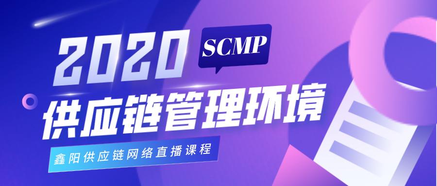 """SCMP第3期网络培训班课程""""供应链管理环境"""""""